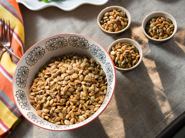 Sweet and Salty Pepitas recipe from Valerie Bertinelli via Food Network