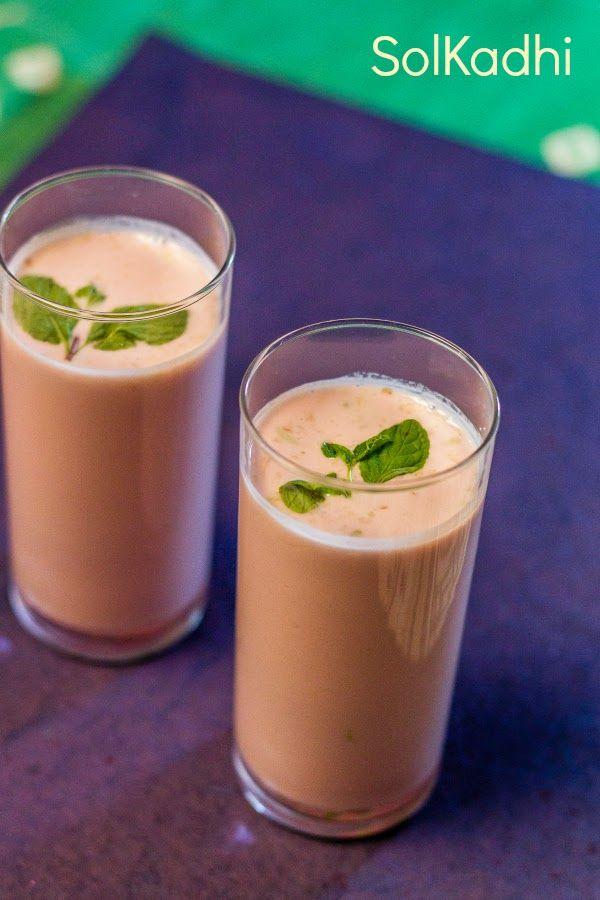 Solkadhi is very nice ,refreshing Konkani drink made from Kokum fruit and Coconut milk.