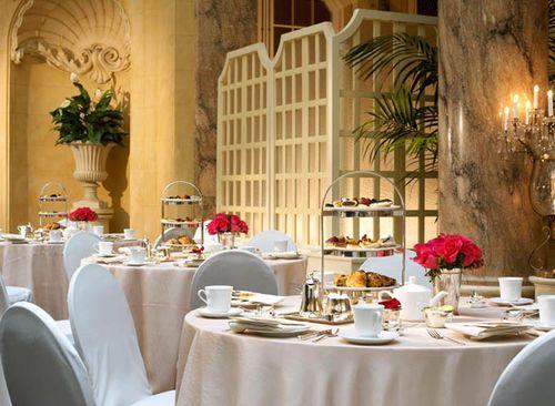 The Palace Hotel ~ Tea Table Setting