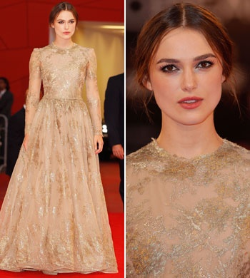 Keira Knightley in Valentino (Venice 2011) Gorgeous gown Style inspiration