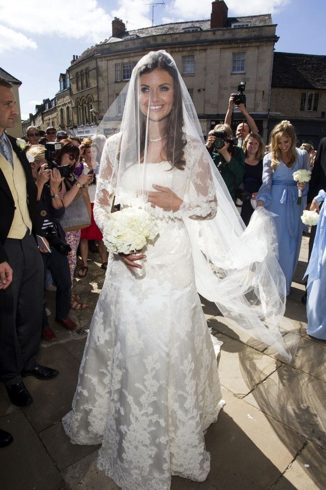 8th June, 2013:  Wedding of Lady Natasha Rufus-Issacs to Rupert Finch at St John The Baptist, Cirencester.