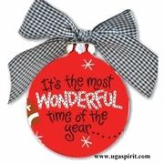 UGA Christmas Ornament