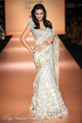 Amy Jackson for Bhairavi Jaikishan