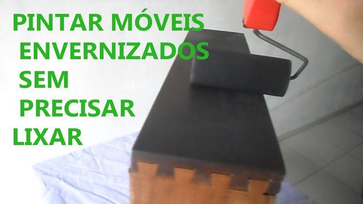 Como pintar móveis envernizados sem lixar