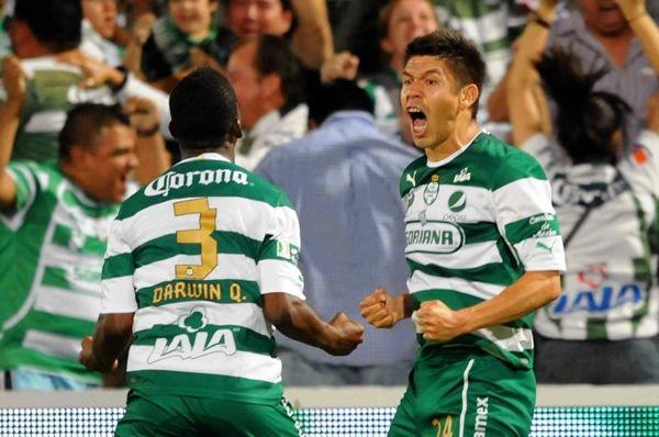 Oribe entre los mejores goleadores del mundo.