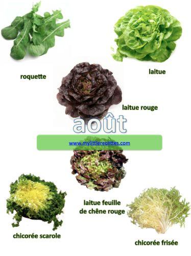 Salades d'août