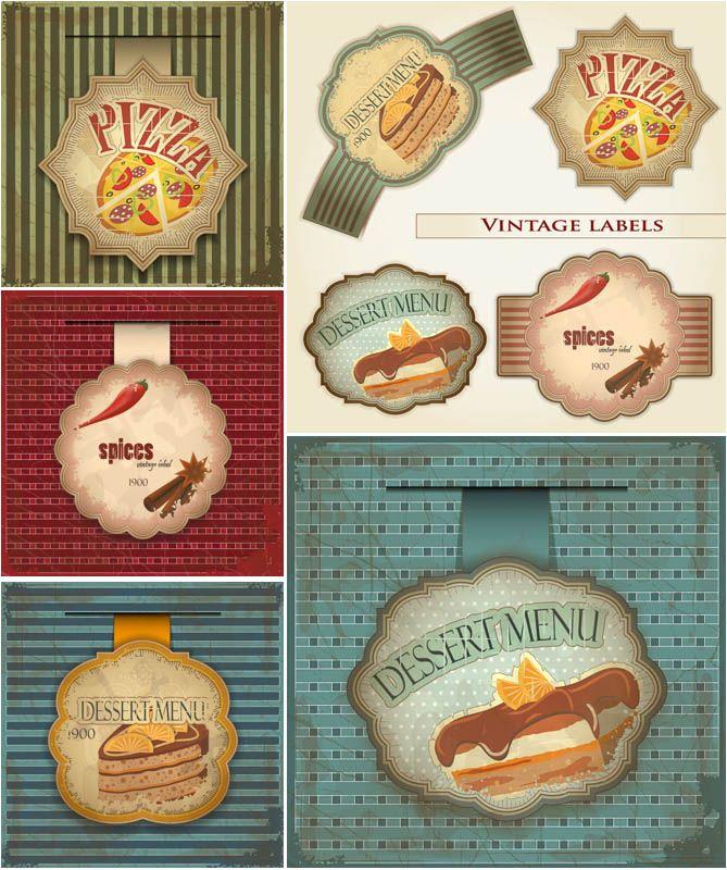vintage food illustrations - Google Search#