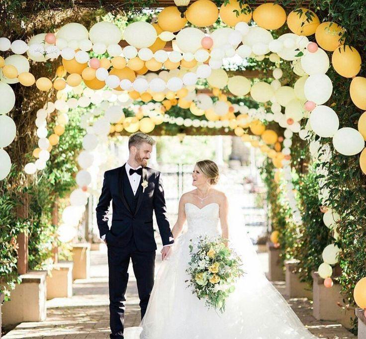Outdoor Wedding Ceremony Eau Claire: バルーンでもっとお洒落に!結婚式装飾&ウェディングフォトアイデア集