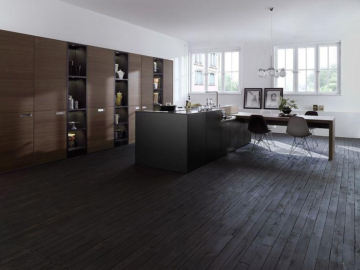 81 best Moderne keukens images on Pinterest Showroom, Cabinets - moderne einbaukuechen kochinsel