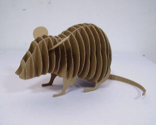 Paper Model - Cardboard Mouse