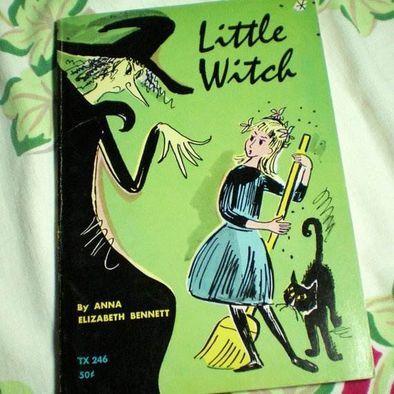 Little Witch 1969 Vintage Children S Book Halloween In 2018