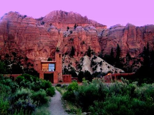 Monastery of Christ in the Desert, Abiqui, New Mexico. Um, I just realized I want to be a monk.