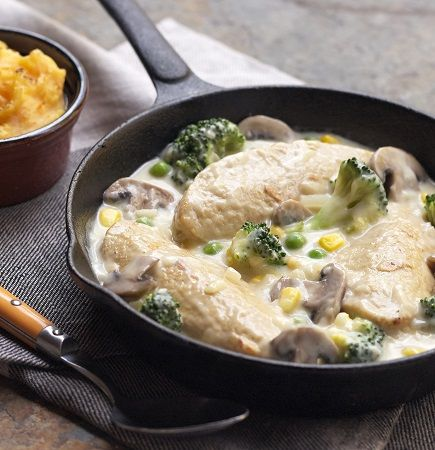 Might try this...Quorn Meat Free Creamy Chicken Fillets Casserole #projectlearntocook #quorn #recipes