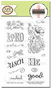 Creative Worship: The Lord is Risen Clear Stamp Set $16 4x6 ...another goner before 4/17.