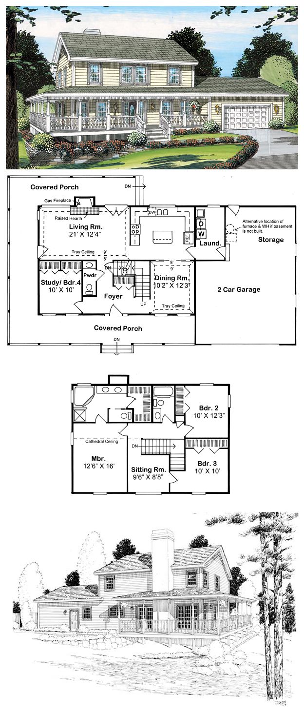 Lancaster pa prefab 2 car garage and 2 story garage manufacturer gears -  Hillsidehomeplan 24400 This 2 033 Sq Ft Layout Is Wonderful To Look At