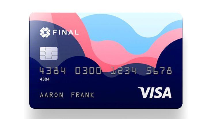 Goldman Sachs Acquires Team Behind Credit Card Startup Final Decor Ideen Credit Card Design Business Credit Cards Card Design