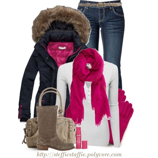 """""""Don't Forget the Lip Balm"""" Casual Winter Outfit Set!"""