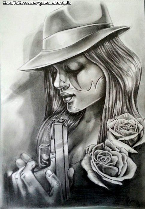 tattoo girl chicanos