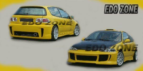 Honda civic hatchback aerodynamics, body kits, ground effects ...
