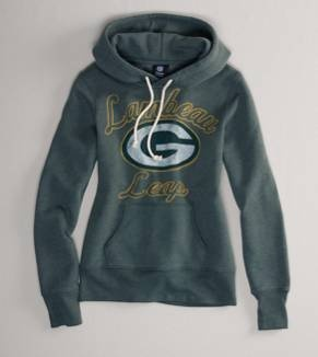 Green Bay Packers NFL Hooded Popover- $54.95