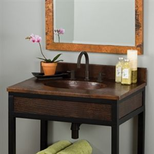 Recycled Copper--The Latest Trends in Bathroom Sinks