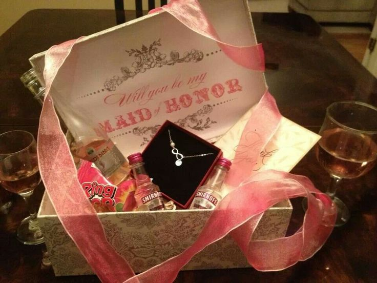 Wedding Gift Ideas From Maid Of Honor: Will You Be My Maid Of Honor Gift For My Amazing MOH