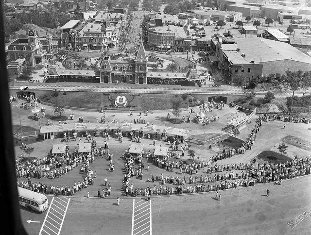 Disneyland Public Opening Day July 18, 1959