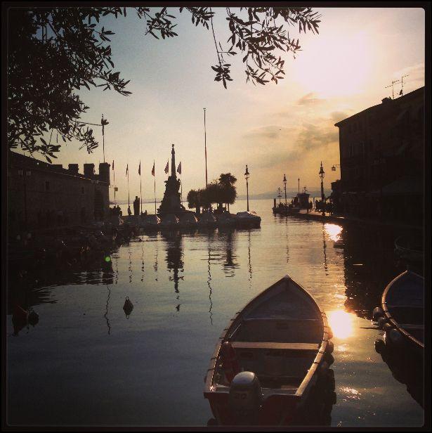 Sunset at Lake Verona