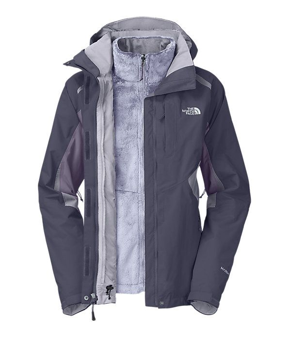 The North FaceWomen'sJackets & Vests3-IN-1 JACKETSWOMEN'S BOUNDARY TRICLIMATE JACKET   expensive... i know... but maybe when black friday comes around.... size medium