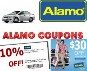 Alamo rental car coupon codes 2017