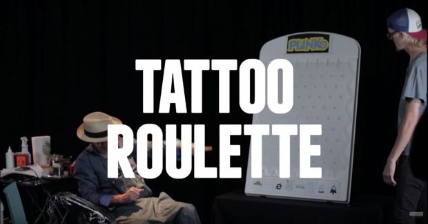 Tattoo Roulette Video of Awful Tattoos