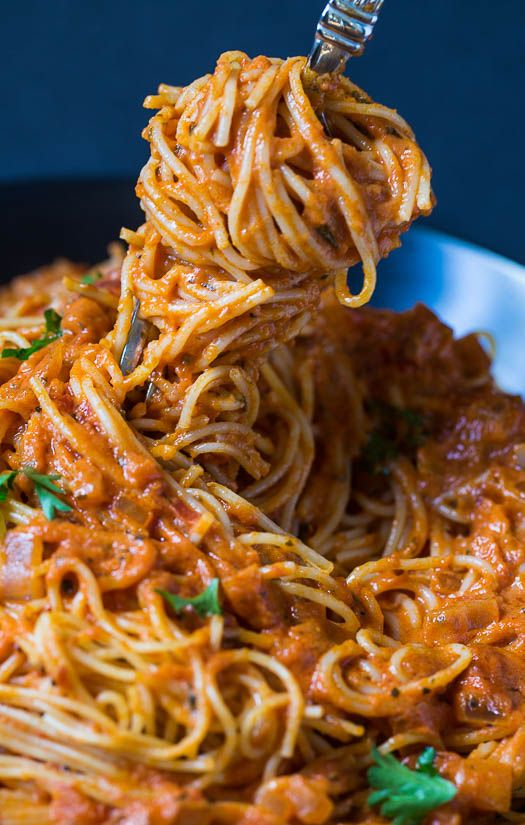 Spicy Tomato Cream Pasta ! My Absolute Favorite Pasta Recipe ! My Family ask me Constantly to Make this-they could eat it every night !