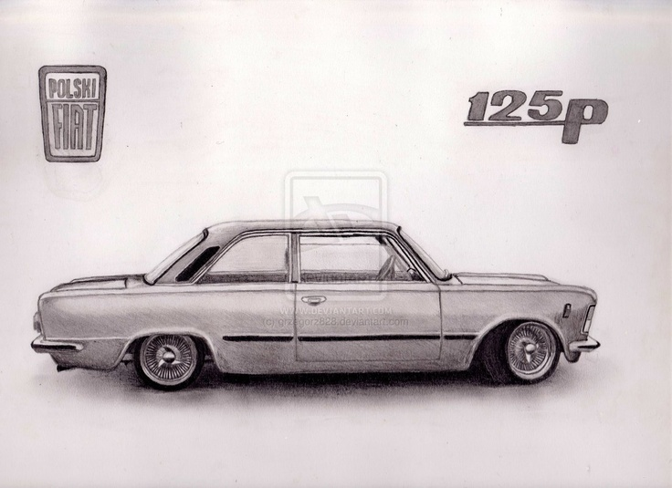 Fiat 125p coupe by grzegorz828.deviantart.com