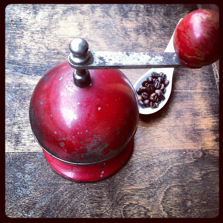 Arrugginito: #macinacaffe #coffee grinder #trespade #caffe