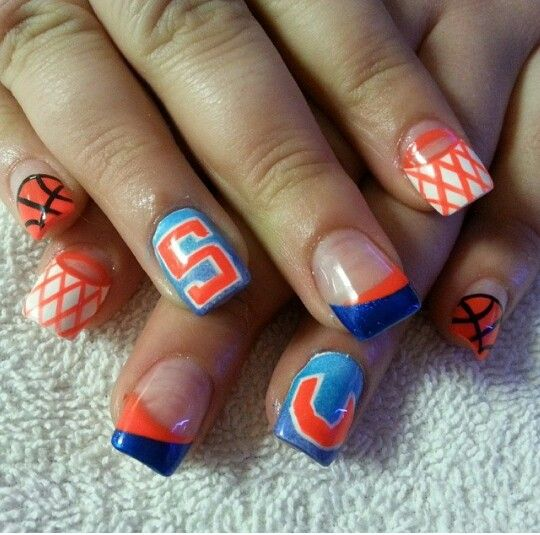 120 Best March Madness Nails Images On Pinterest