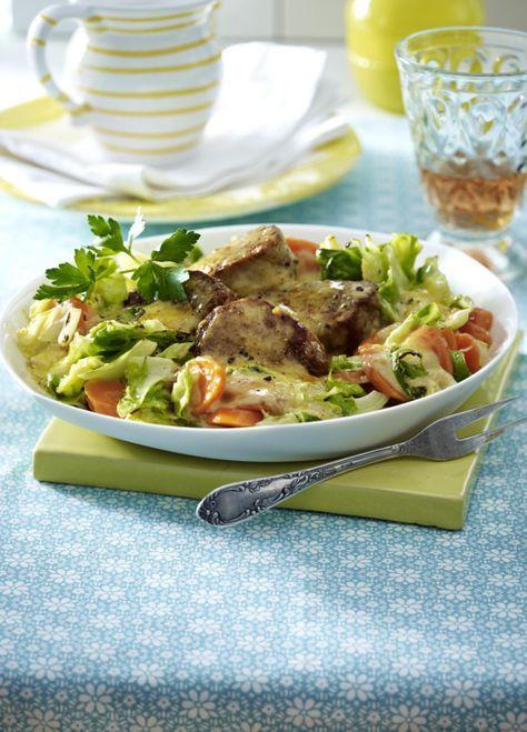 Unser beliebtes Rezept für Gratinierte Schweinefilets mit Spitzkohl-Möhrengemüse und mehr als 55.000 weitere kostenlose Rezepte auf LECKER.de.