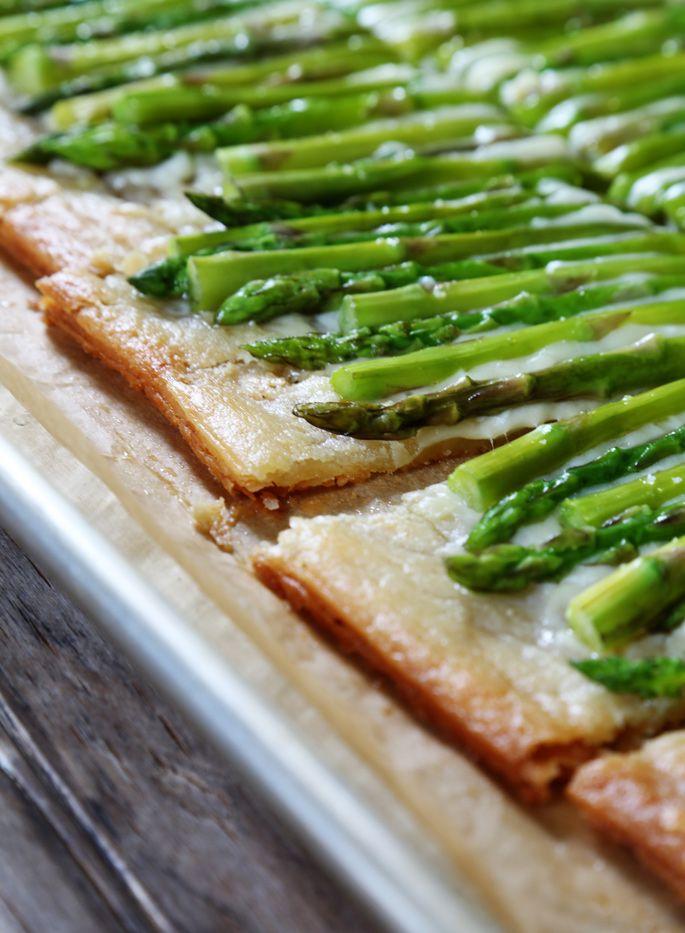 Easy Gluten-Free Asparagus Tart