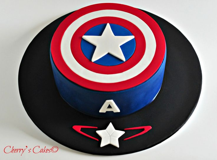 Cherry's Cakes: Captain America - Age of Ultron