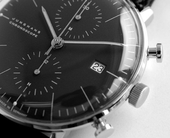 Max Bill Chronoscope chez Junghans: Junghan Chronoscop, Bill Chronoscop, Men Fashion, Products Design, Menswear Inspiration Watches, Girls Style, Max Bill, Junghan Max, Men Watches