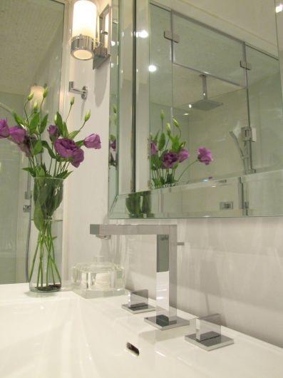 Leslieville Bath by BedfordBrooks Design Inc