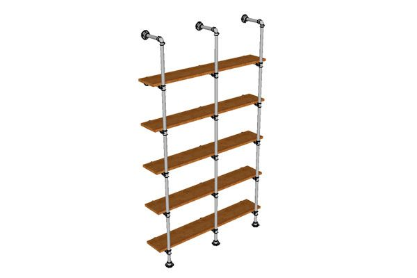 a Rack of pipes with your hands