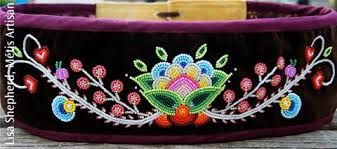 Image result for Métis Culture Beadwork
