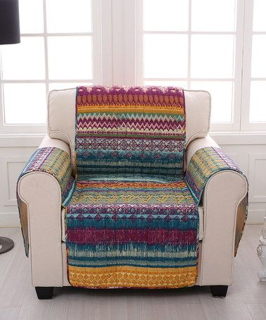 Loving this Southwest Armchair Cover on #zulily! #zulilyfinds