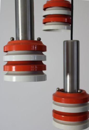 Mid Modern 5 Lights Pendant Lamp Danish Space Lyfa Fog Morup Raak Anvia Era | eBay