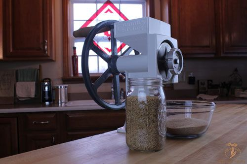 Getting Started With a Home Grain Mill - What is a grain mill and how do you use a grain mill.