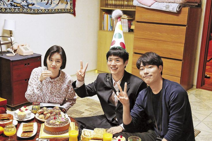 """park bogum, ryu junyeol and hyeri in reply 1988 ✧ unreleased photos thank you, mirror media.""1800 x 1200"" """