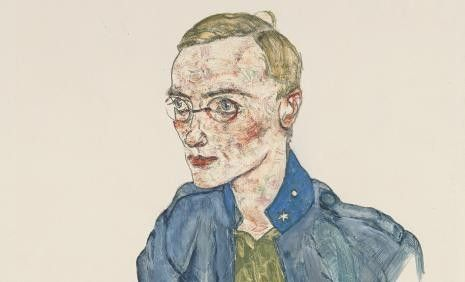 """AND YET, ART! Austria 1914-1918"" Exhibition until 15.09.2014 at Leopold Museum, Vienna. Organised by Leopold Museum www.leopoldmuseum.org/en/exhibitions/preview  Egon Schiele, 1916 ""One-Year Volunteer Lance-Corporal"" ©Leopold Museum Inv. 1418"