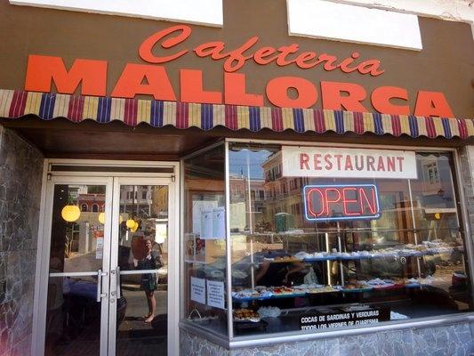 Authenitc 50's Coffee shop Cafeteria Mallorca   Yelp