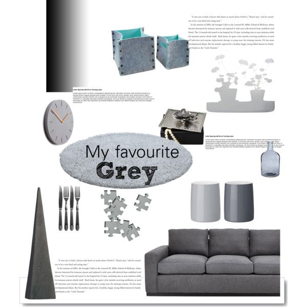 """My favourite grey"" by gelykou on Polyvore"