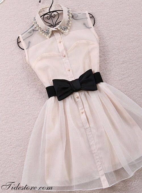 DIY Dress. I am a total tomboy so I LOVE this dress